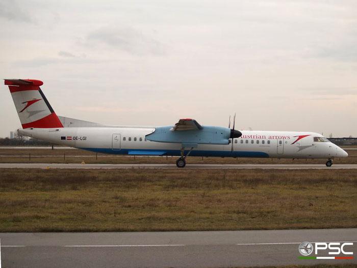 OE-LGI DHC-8-402 4100 Austrian Arrows @ Aeroporto di Verona 12.01.2008  © Piti Spotter Club Verona