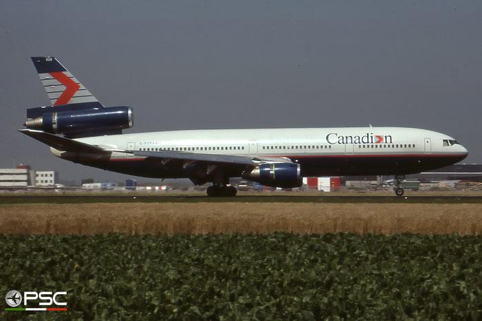 C-FCRA DC-10-30 46931/137 Canadian Airlines International © 2018 courtesy of Marco Ceschi - Piti Spotter Club Verona