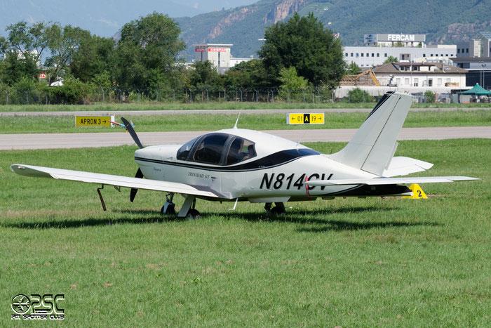 N814CV SOCATA TB20 TB20 2137 VANCO INGENIERIE INC TRUSTEE @ Aeroporto di Bolzano © Piti Spotter Club Verona