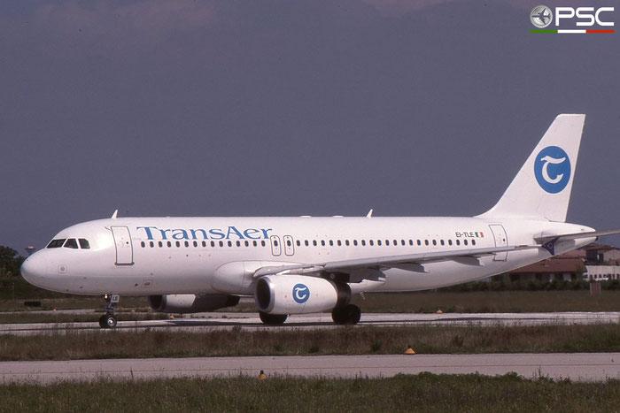EI-TLE A320-231 429 TransAer International Airlines © 2017 courtesy of Marco Ceschi - Piti Spotter Club Verona