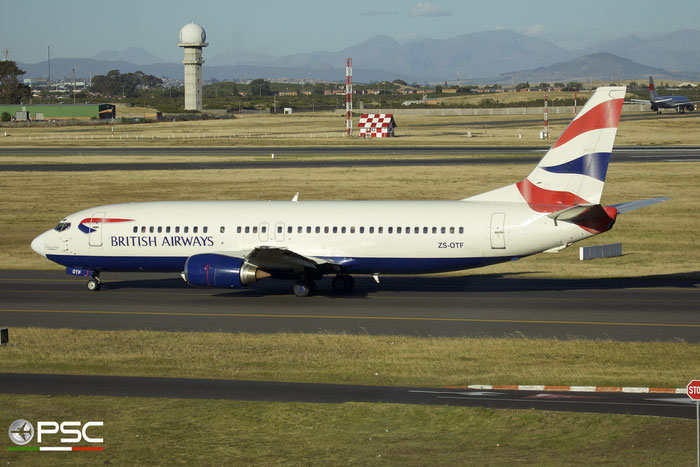 ZS-OTF B737-436 25305/2147 Comair - Commercial Airways @ Cape Town Airport 22.03.2014 © Piti Spotter Club Verona