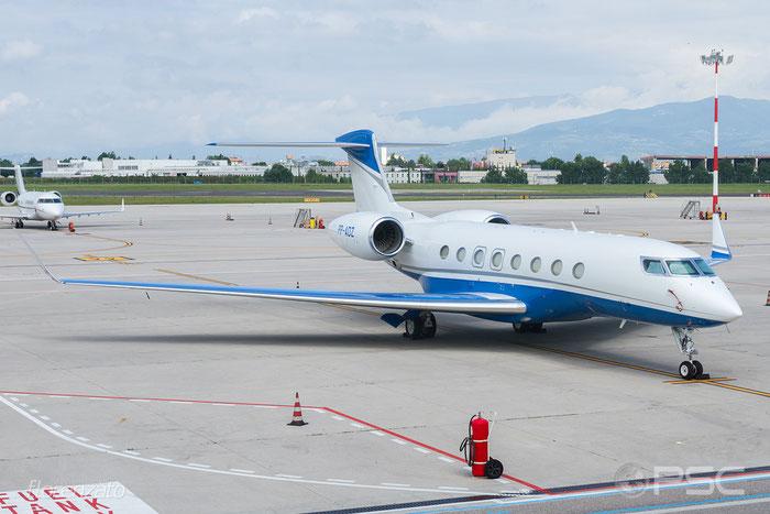 PP-ADZ G650ER 6190 PAIC Participacoes Ltda. @ Aeroporto di Verona 06.2017  © Piti Spotter Club Verona