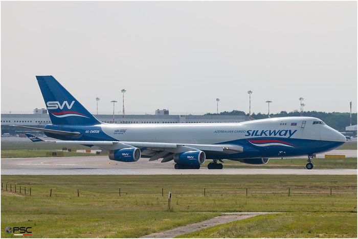 4K-SW008 B747-4R7F 29732/1231 Silk Way West Airlines @ Milano Malpensa Airport 18.05.2016 © Piti Spotter Club Verona