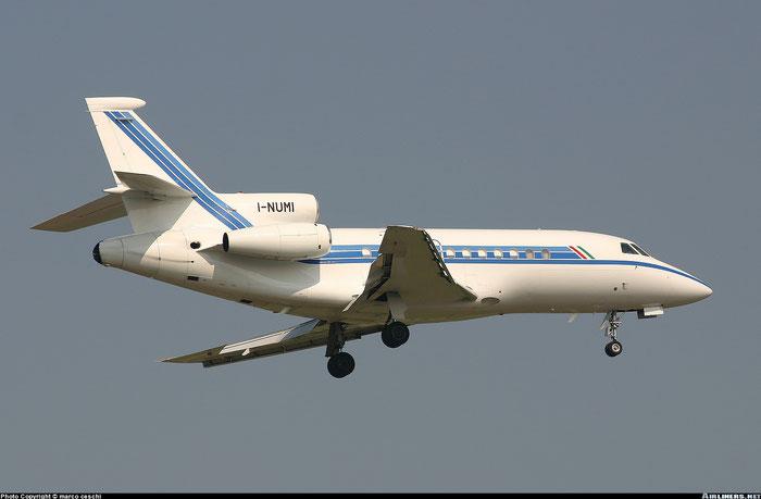 I-NUMI Falcon 900 89 CAI - Compagnia Aeronautica Italiana @ Aeroporto di Verona © Piti Spotter Club Verona