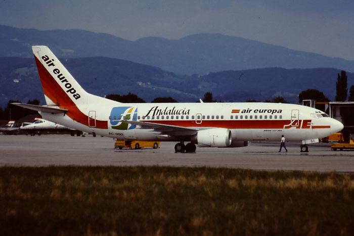 EC-GGO  B737-3M8  24376/1717  Air Europa  @ Aeroporto di Verona © Piti Spotter Club Verona