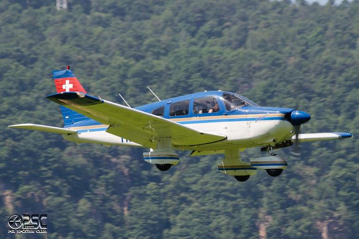 HB-POW Piper PA-28-181 Archer 2 P28A 2890158 Fluggruppe Seeland @ Aeroporto di Bolzano © Piti Spotter Club Verona