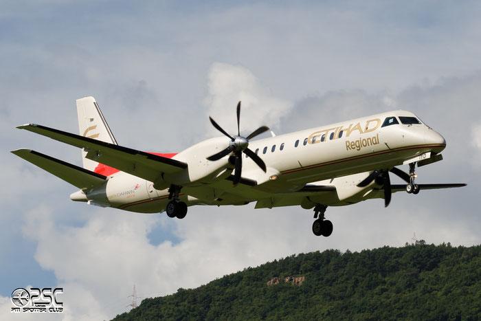 HB-IYD Saab 2000 2000-059 Darwin Airline @ Aeroporto di Bolzano © Piti Spotter Club Verona