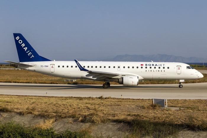 TC-YAH ERJ190AR 19000264 Borajet Airlines @ Rhodes Airport 07.2015 © Piti Spotter Club Verona