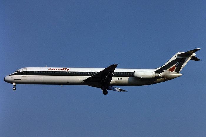 I-FLYZ  DC-9-51  47697/816  Eurofly  @ Aeroporto di Verona © Piti Spotter Club Verona