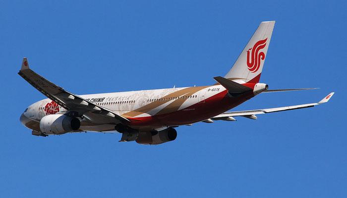 B-6075 A330-243 785 Air China @ Milano Malpensa Airport 29.12.2017 © Piti Spotter Club Verona