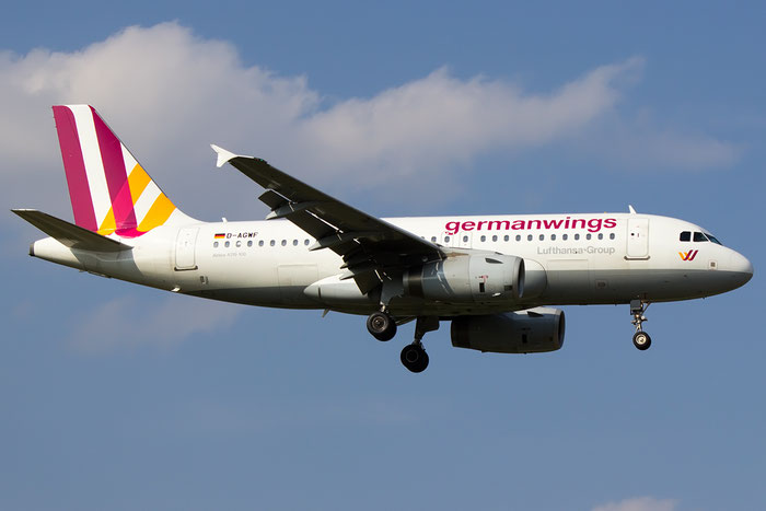 D-AGWF A319-132 3172 Germanwings  @ Bologna Airport 07.09.2014 © Piti Spotter Club Verona