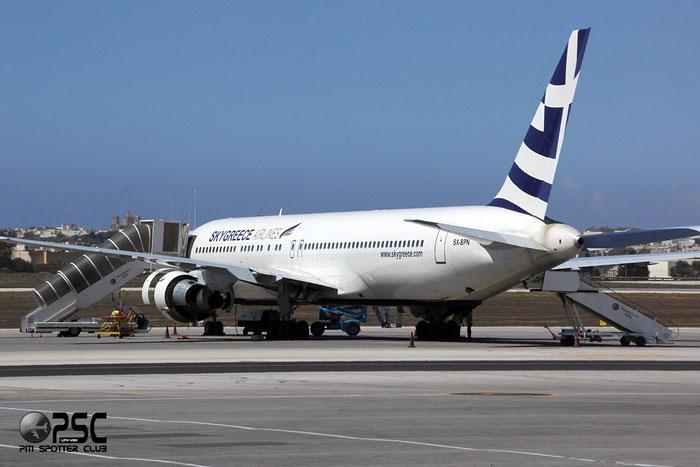 SX-BPN B767-31AER 26470/416 SkyGreece Airlines @ Malta Airport 09.2014 © Piti Spotter Club Verona