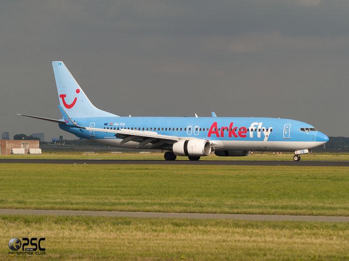 PH-TFB B737-8K5 35149/2820 ArkeFly @ Amsterdam Airport - 20.09.2013  © Piti Spotter Club Verona