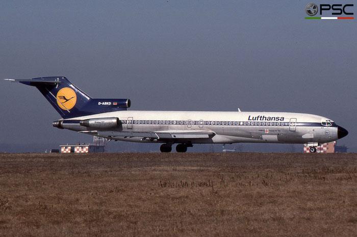 D-ABKD B727-230 20902/1059 Lufthansa © 2018 courtesy of Marco Ceschi - Piti Spotter Club Verona