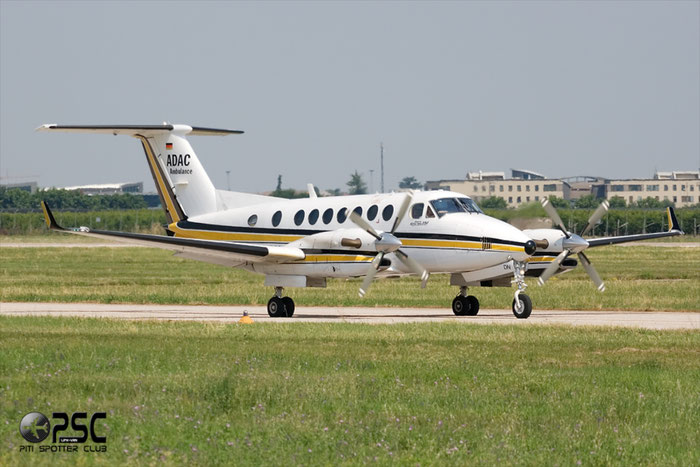 D-CADN - Dornier Do-328-300 Jet - D-BADC ADAC @ Aeroporto di Verona © Piti Spotter Club Verona