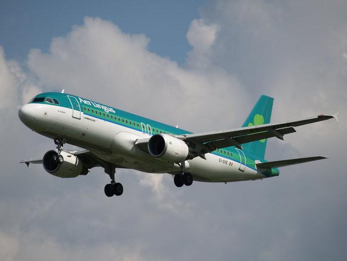 EI-DVE A320-214 3129 Aer Lingus @ London Heathrow Airport 08.2007  © Piti Spotter Club Verona