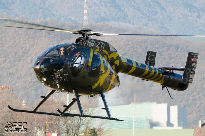 HB-ZTI - Private MD Helicopters MD-520N @ Aeroporto di Bolzano © Piti Spotter Club Verona