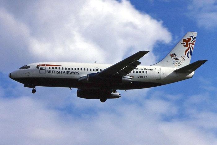 G-BKYG B737-236 23165/1064 British Airways @ Aeroporto di Verona © Piti Spotter Club Verona