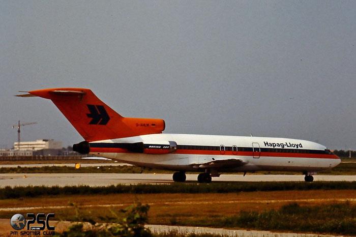 D-AHLM  B727-81  18919/163  Hapag-Lloyd Flug  @ Aeroporto di Verona © Piti Spotter Club Verona