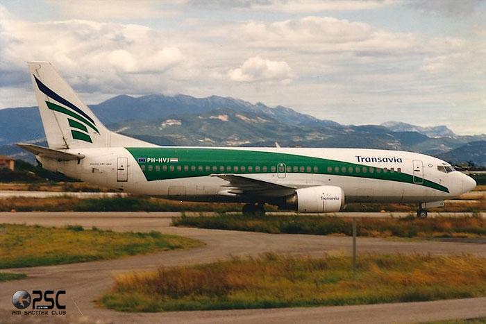 PH-HVJ B737-3K2 23738/1360 Transavia Airlines @ Aeroporto di Verona © Piti Spotter Club Verona