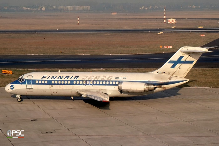 OH-LYH DC-9-15MC 47044/165 Finnair © 2018 courtesy of Marco Ceschi - Piti Spotter Club Verona