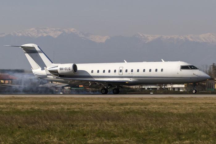 9H-CLG CL-850 8063 Air X Charter @ Treviso Airport 07.03.2015 © Piti Spotter Club Verona