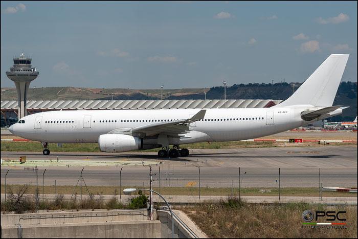 CS-TFZ A330-243 1008 Hi Fly @ Madrid Airport 11.2017 © Piti Spotter Club Verona