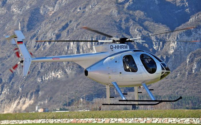 D-HHRM Airline: Private Aircraft: Hughes 369E @ Aeroporto di Trento © Piti Spotter Club Verona