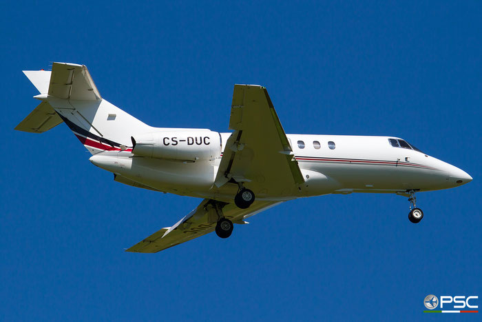 CS-DUC BAe125-750 HB-6 NetJets Europe @ Aeroporto di Verona 07.2018  © Piti Spotter Club Verona