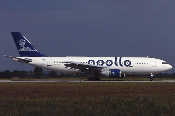 SX-BAZ A300B4-203 210 Apollo Airways @ Aeroporto di Verona © Piti Spotter Club Verona