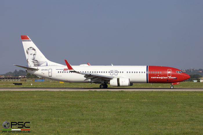 LN-DYC B737-8JP 39164/3196 Norwegian @ Aeroporto di Verona 09.09.2018  © Piti Spotter Club Verona