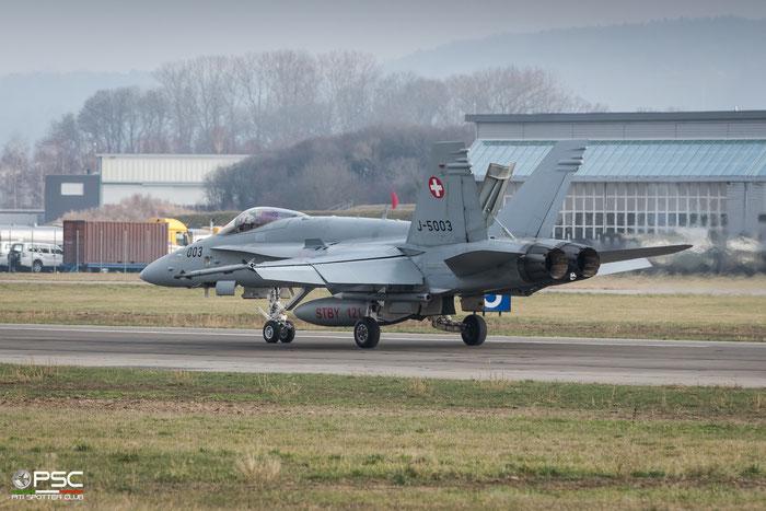 J-5003   F/A-18C-48-MC  1319/SFC003   © Piti Spotter Club Verona
