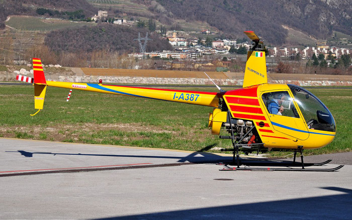 I-A387 ROBINSON R22 BETA II @ Aeroporto di Trento © Piti Spotter Club Verona