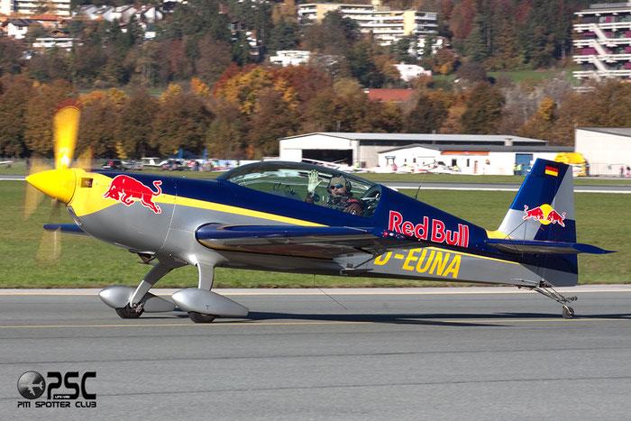 D-EUNA Extra EA-300/L E300 1251 @ Innsbruck Airport 26.10.2013 © Piti Spotter Club Verona