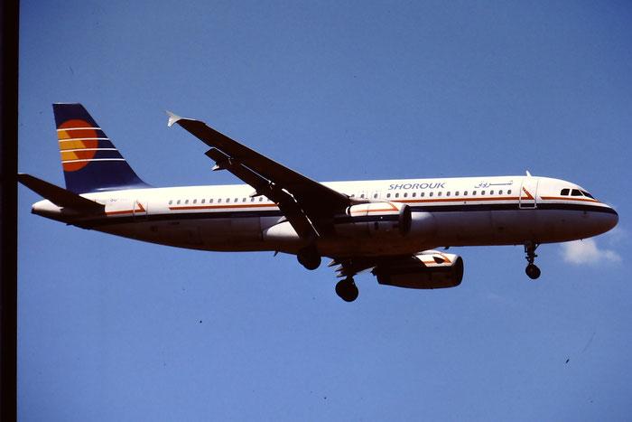 SU-RAA  A320-231  322  Shorouk Air  @ Aeroporto di Verona © Piti Spotter Club Verona