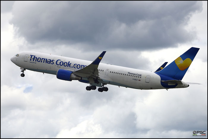 G-DAJC B767-31KER 27206/533 Thomas Cook Airlines @ Manchester Airport 21.06.2015 © Piti Spotter Club Verona