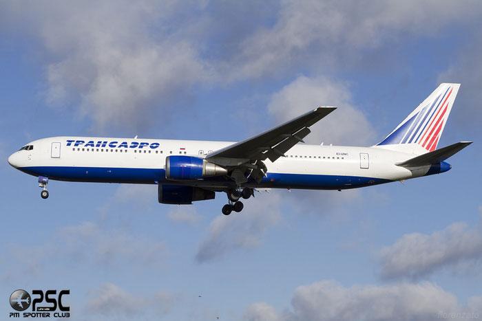 EI-UNC B767-319ER 29388/785 Transaero Airlines @ London Heathrow Airport 07.02.2014 © Piti Spotter Club Verona