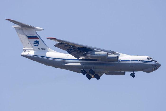 RA-78731 1003401017  Il-76MD  RA-78831  Russian Air Force  © Piti Spotter Club Verona