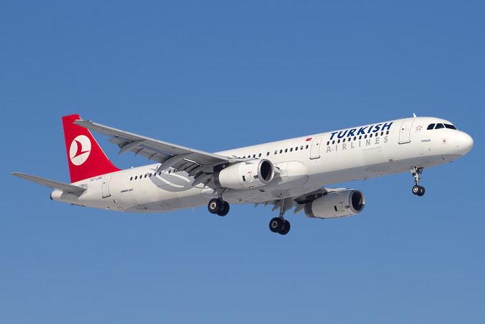 TC-JRL A321-231 3539 Turkish Airlines - THY Türk Hava Yollari @ Bologna Airport 23.02.2012 © Piti Spotter Club Verona
