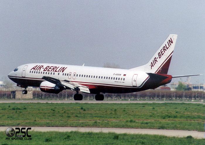 D-ABAM  B737-46J  28867/2879  Air Berlin @ Aeroporto di Verona © Piti Spotter Club Verona