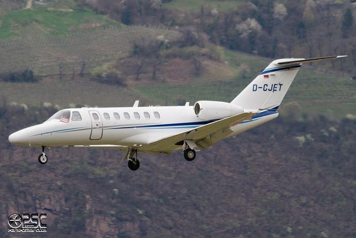 D-CJET Ce525B 525B-0349 Air Hamburg @ Aeroporto di Bolzano © Piti Spotter Club Verona