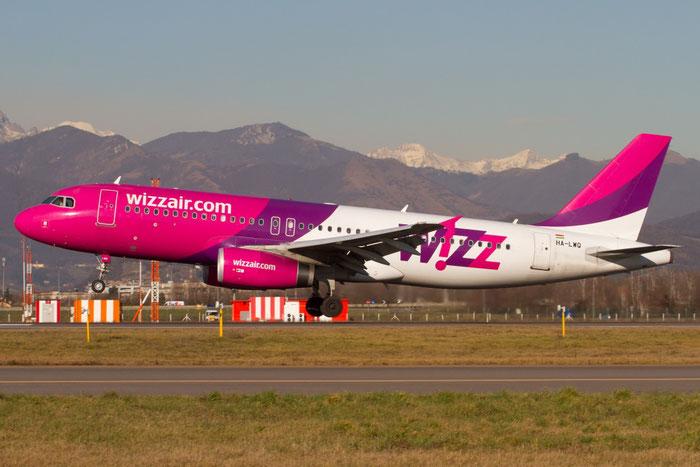 HA-LWQ A320-232 5196 Wizz Air @ Bergamo Airport 04.02.2016 © Piti Spotter Club Verona