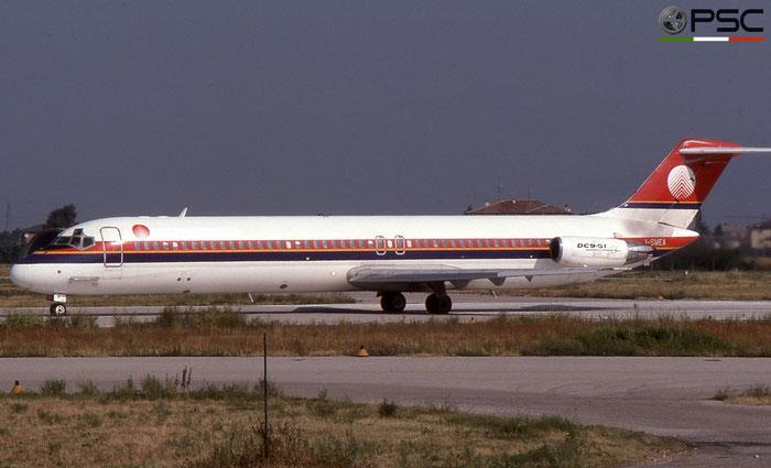 I-SMEA  DC-9-51  47713/820  Meridiana  @ Aeroporto di Verona © Piti Spotter Club Verona