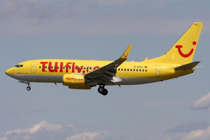 D-AHXJ B737-7K5 35277/2609 TUIfly @ Munich Airport 05.2009 © Piti Spotter Club Verona