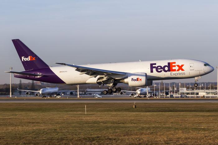 N863FD B777-FS2 37734/998 FedEx Express - Federal Express @ München Airport 28.12.2015 © Piti Spotter Club Verona