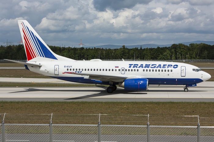 EI-EUY B737-7Q8 29354/1581 Transaero Airlines @ Francoforte Airport 08.05.2015 © Piti Spotter Club Verona