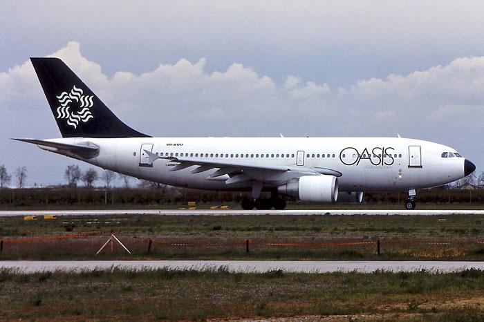 VR-BOU A310-324 638 Oasis International Airlines @ Aeroporto di Verona © Piti Spotter Club Verona