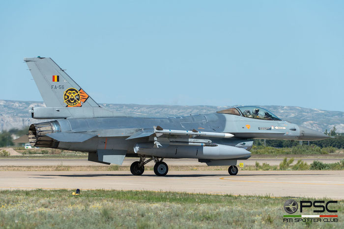 FA56   F-16AM  6H-56  10w © Piti Spotter Club Verona