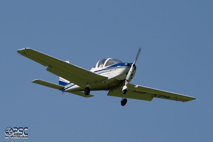 HB-KPA Tecnam P-2002-JF SIRA 062 Fluggruppe Seeland, Biel @ Aeroporto di Bolzano © Piti Spotter Club Verona