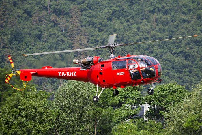 ZA-XHZ SNIAS SA-319B Alouette 3 ALO3 2378 @ Aeroporto di Trento © Piti Spotter Club Verona